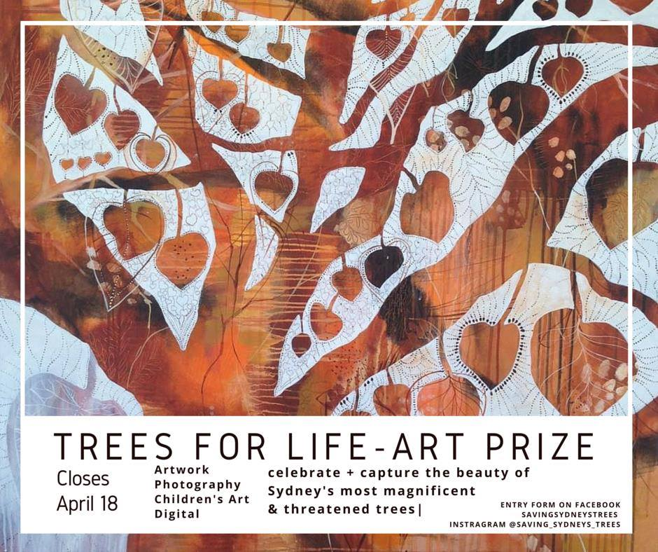 Trees for Life Art Prize Event – Friday 22nd April